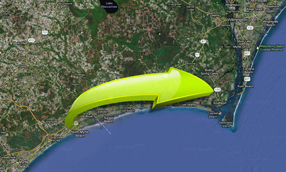 Directions From Myrtle Beach Sc To Southport Nc